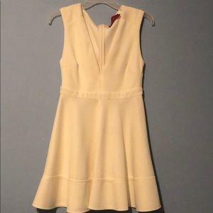 AKIRA Red label white dress